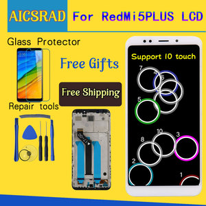 """Image 5 - Aicsrad 100% teste para xiaomi redmi 5 plus display lcd + tela de toque fhd 5.99 """"montagem peças reparo com quadro aaa qualidade"""