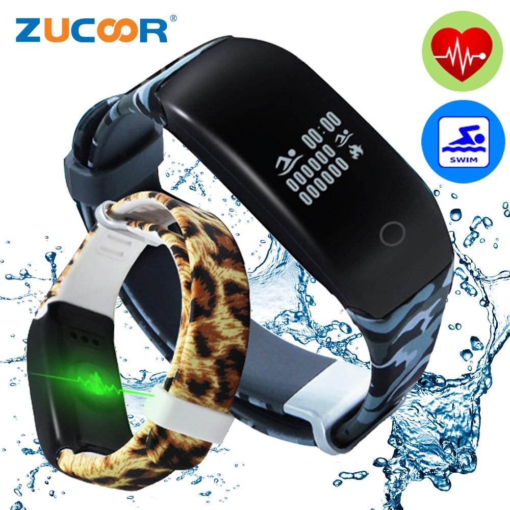 imágenes para Elegante Original Pulsera Band Health Monitor de Ritmo Cardíaco Del Deporte Reloj Pulsera Actividad Pulso Inteligente Para iOS Android Hombres Mujeres