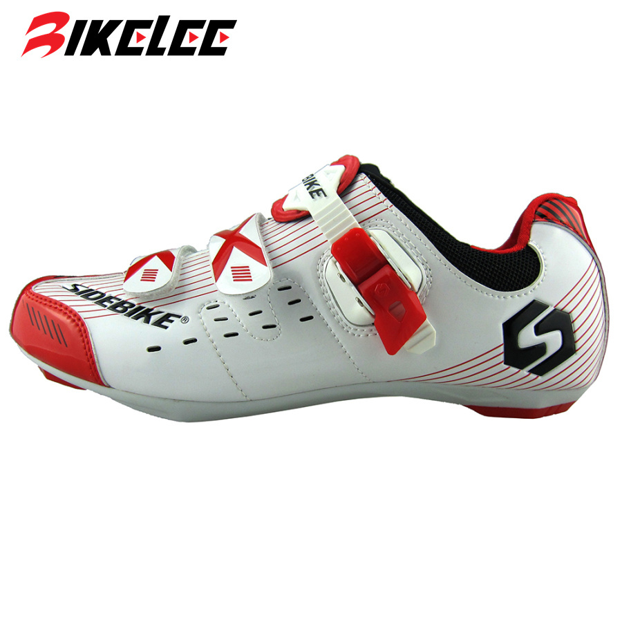 SIDEBIKE Mens Profession athlete Road MTB Cycling Shoes Bicycle Racing bike Shoes Self-locking Sneakers zapatillas de ciclismo sidebike high quality men cycling shoes self locking road bike shoes s2 snap knob bicycle shoes ultralight sapatos de ciclismo