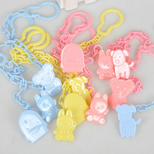 High Quality Baby care Pacifier Clip Baby Dummy Chain Feeding Product Animal Cartoon Baby Pacifier Anti