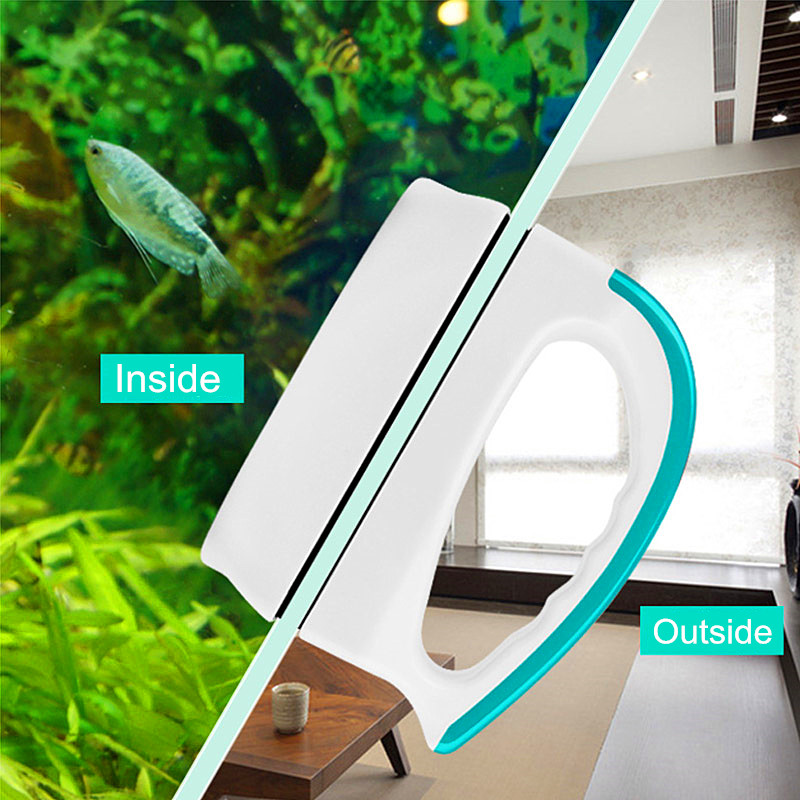 New Design Magnetic Aquarium Fish Tank Glass Algae Scraper Cleaner Magnetic Brush Aquarium Tank Fish Tools Floating Brush