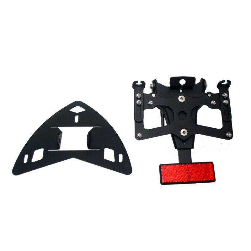 New Black Motorcycle Rear License Plate Holder KIT Block Off Plate For BMW S1000RR HP4 2009-2015 S1000R 14-16 smaart v 7 new license