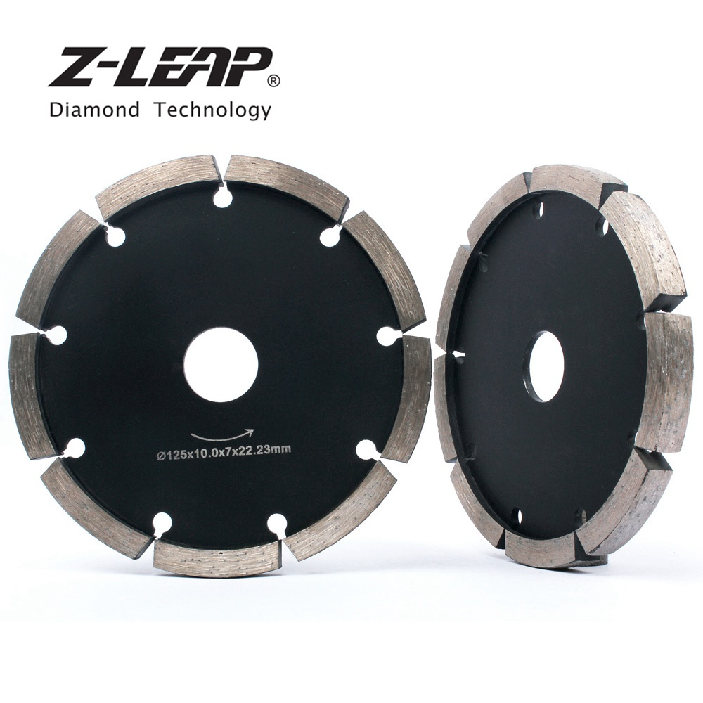 Z-LEAP 5inch 10mm Thickness Diamond Tuck Pointing Blade 125mm Concrete Wall Floor Tuck Point Pointer Grovving Tool Cutting Disc