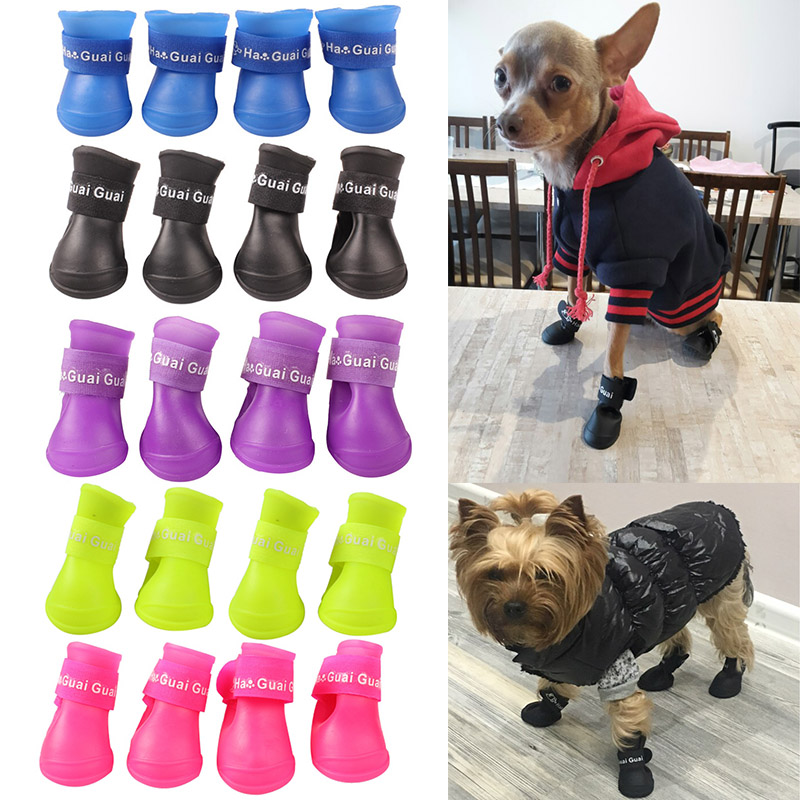 V Hao Dog Boots For Small Dogs Indoor Wood Floor Non Slip Rubber