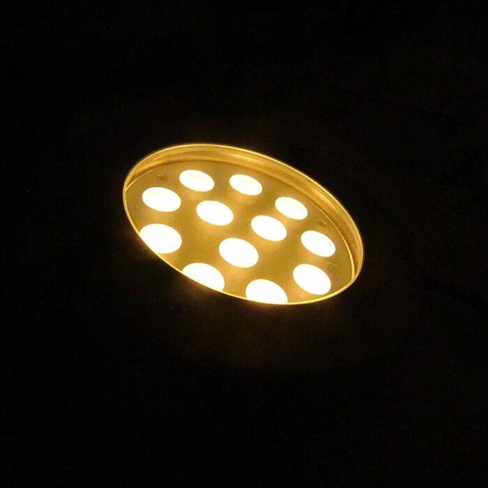Hohe Qualität 304 edelstahl IP68 36 Watt Multi Color Schwimmbad Licht, weiß Unterwasser led licht RGB Pool Lampe 4 teile/los - 5