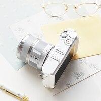 YI M1 Mirrorless Digital Camera Prime Zoom LCD 2 Lens Minimalist BLE WIFI RAW 20MP Video Recorder International Version White 5