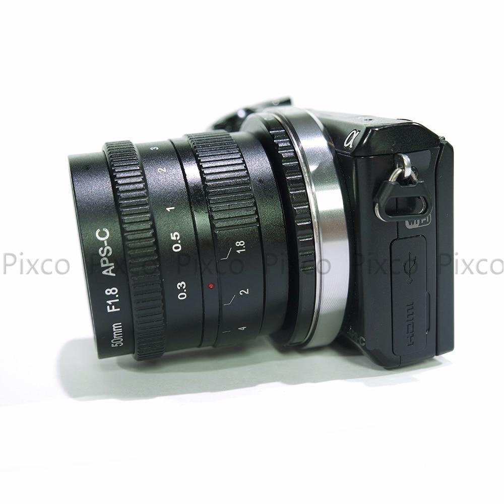 Pixco 50 mm f / 1.8 brez ogledala C-vgradni APS-C televizijski - Kamera in foto - Fotografija 3