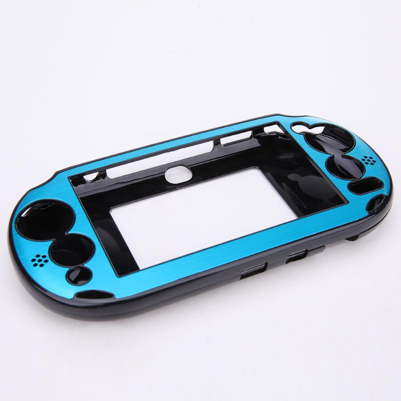 5 Colors Aluminum Skin Case Cover Shell for Sony PlayStation PS Vita 2000  PSV PCH-20 Dropshipping