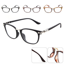 Sexy frames ladies retro glasses mens transparent lenses optical black