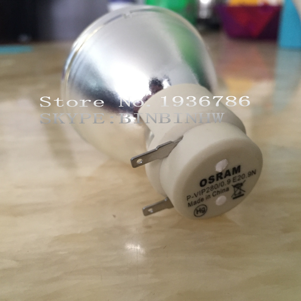 Original Replacement Bare Projector Lamp / bulb 5811118924-SOT for OPTOMA EH415,W415,EH415ST,HD37,W415E,EH415E Projectors. free shipping original quality bare projector lamp 5811118543 sot for optoma hd50 h161x
