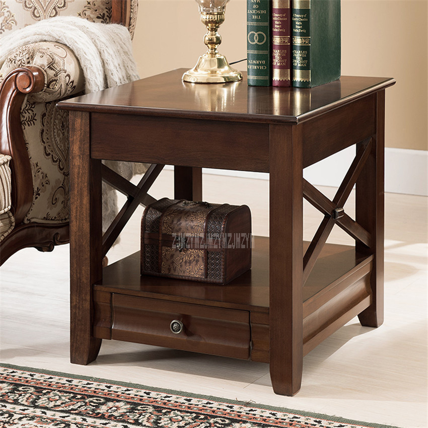 Sofa Side Table Storage Cabinet Bedroom