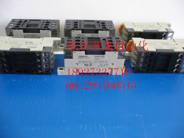 [ZOB] 100% new original OMRON Omron solid state relays G6D-F4B DC24 цены онлайн