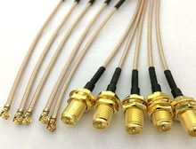 100pcs 5cm/8cm/10cm/15cm/20cm RP-SMA Female Pin to uFL/u.FL/IPX/IPEX RF Coax Adapter Assembly RG178 Pigtail Cable