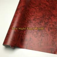 Birds Eye Wood Texture Film Wood Vinyl Wrap PVC For Macbook Funiture Car Interier Size 1