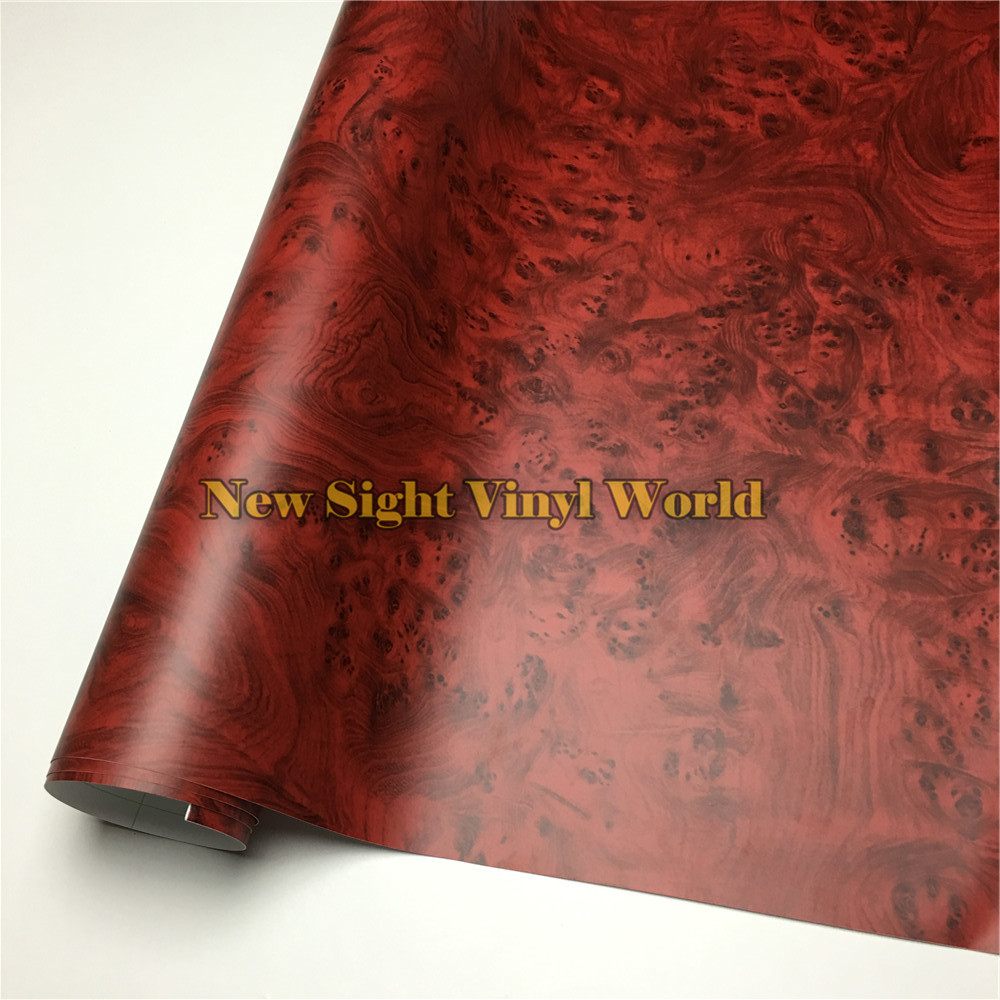 Birds Eye Wood Texture Film Wood Vinyl Wrap PVC For Macbook Furniture Car Interier Size:1.24X50m/Roll(4ft X 165ft)
