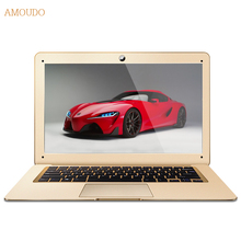 Amoudo-6C 8GB RAM+500GB HDD 14inch 1920*1080P FHD Windows 7/10 System Intel Quad Core CPU Ultrathin Laptop Notebook Computer