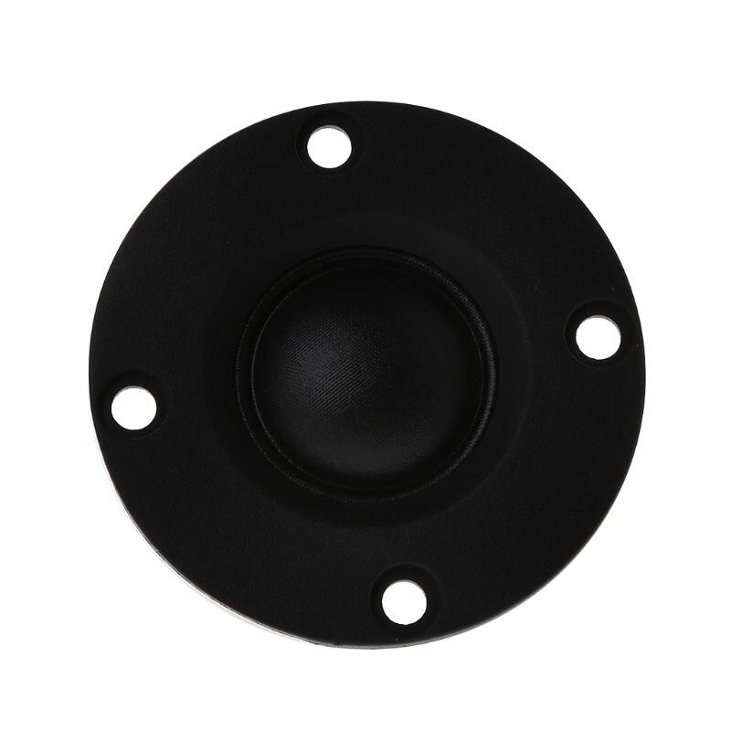 """2pcs 4/"""" inch 6Ohm 30W Silk Film Tweeter Speaker Audio Loudspeaker with Heatsink"""