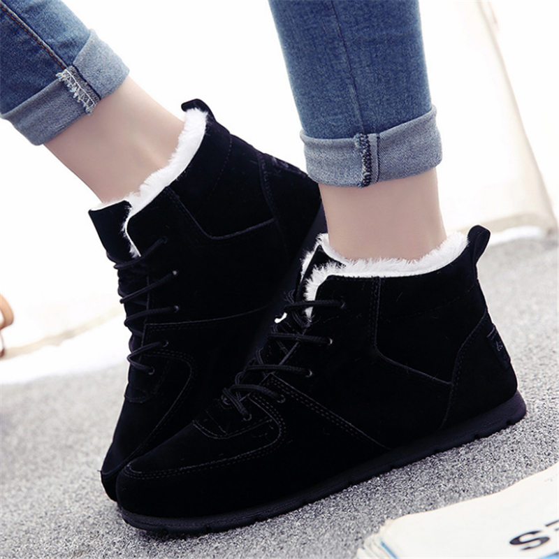 Women Sneakers Outdoor Jogging Running shoes Velvet Suede woman Sports Shoes Keep warm arena Athletic Trainers free delivery 2018 men warm winter running shoes high top athletic sneakers sports outdoor fitness women jogging trend trainers walking boots