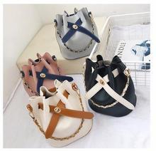 Mini Bucket Bag 2018 Womens Fashion Drawstring Messenger Female Shoulder Handbag