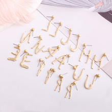 Fashion Exquisite Pendant Earrings Simple Humanoid Letter Multi-letter Jewelry Party Personality Design