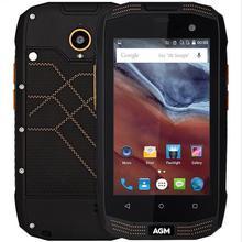 Оригинал AGM A2 IP68 Водонепроницаемый Противоударный 4 Г OTG NFC Смартфон Qualcomm MSM8909 Quad Core Сотовый телефон 2 ГБ + 16 ГБ 8MP Мобильного Телефона