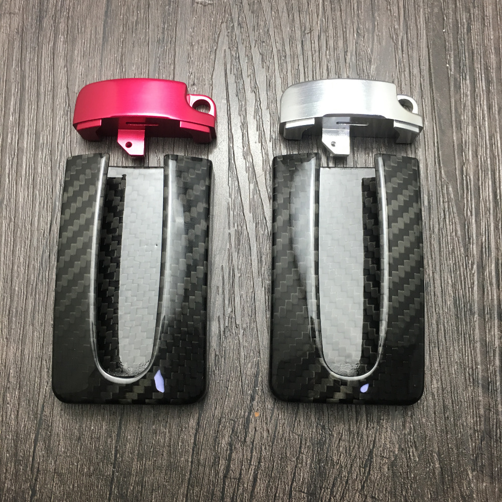 Genuine 100% Carbon Fiber Car Auto Remote Key Case Cover Fob Holder Skin Shell For NISSAN R35 GTR G-TR 370Z 350Z INFINITI for nissan gtr gtr r35 led tail lights 2007 red