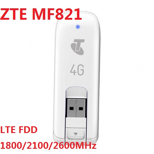 Unlocked ZTE MF821 100Mbps 4G LTE Mobile Broadband Modem 4G SIM card modem mf823 E8372