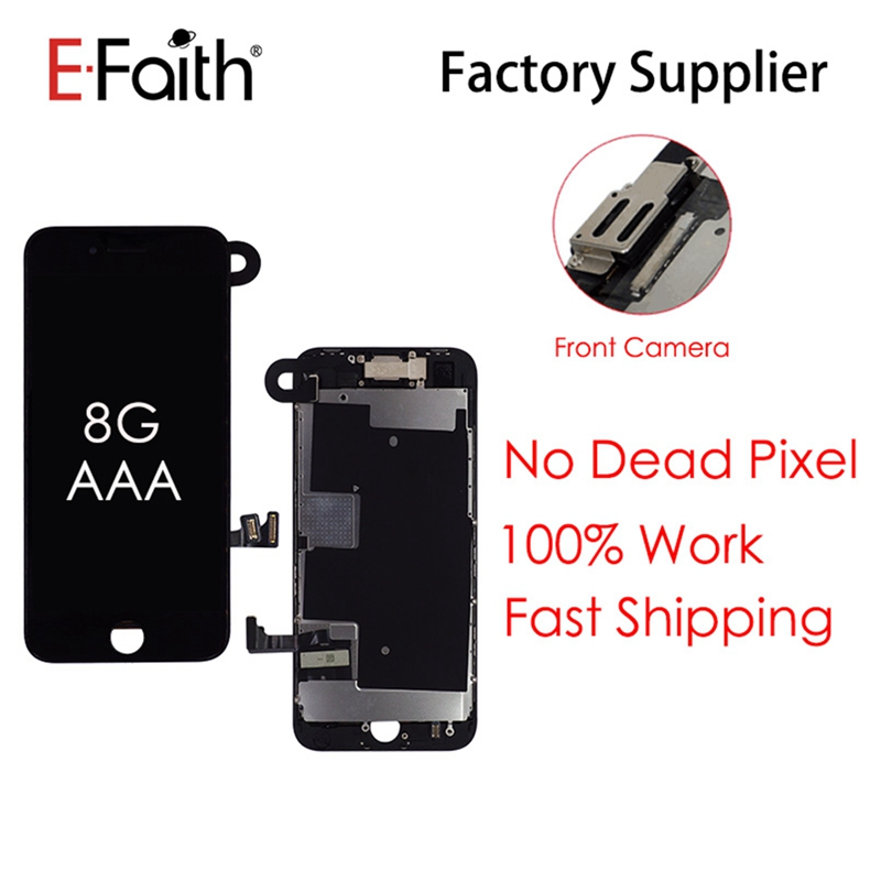 LCD Replacement Lcd-Display Touch-Screen-Assembly Front-Camera 3d-Touch iPhone 8 100PCS