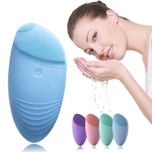 Women Face Brush For Washing Pore Cleaner Skin Care Machine Silicone Cleansing Massage Cleaning Tools