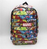 Bolsa de Marvel Comics superhéroe cosplay Mochila Bolsa de Libros