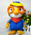 Free Shipping 30CM Cute Cartoon Penguin Plush Toys Pororo With Glasses Stuffed Dolls  Baby Toys Hot Sale