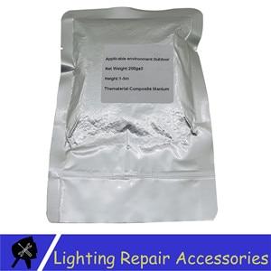 Image 3 - 10 Bags/lots TI ผง 200 กรัม/ถุงกลางแจ้งเย็น Spark Sparkler โลหะไทเทเนียมสำหรับเย็นเปลวไฟผล Firework เครื่องผง