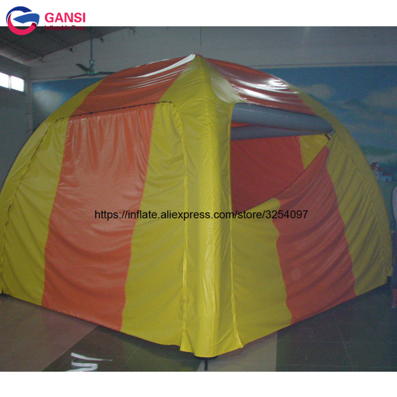 Easy set up outdoor camping inflatable igloo tent for 2 person waterproof PVC material inflatable tent camping  with lows price outdoor double layer 10 14 persons camping holiday arbor tent sun canopy canopy tent