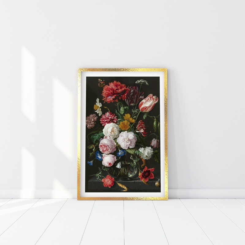 Floral Botanical Illustratio Canvas Art Painting Home Decor