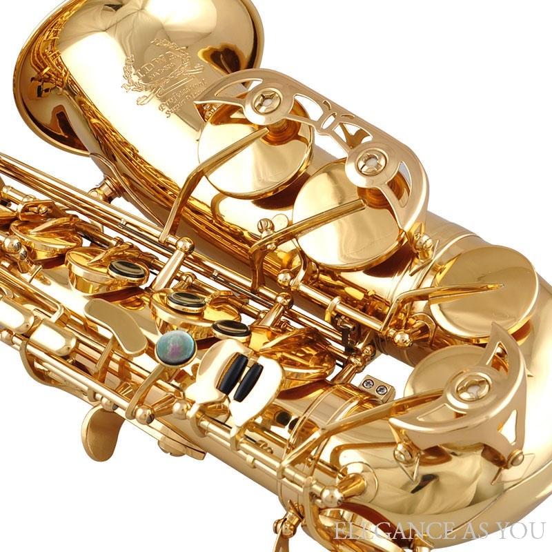 Handwork painting process anti-rust brass bE saxophone falling tune E F beginner alto Eb Sax professional playing saxophone
