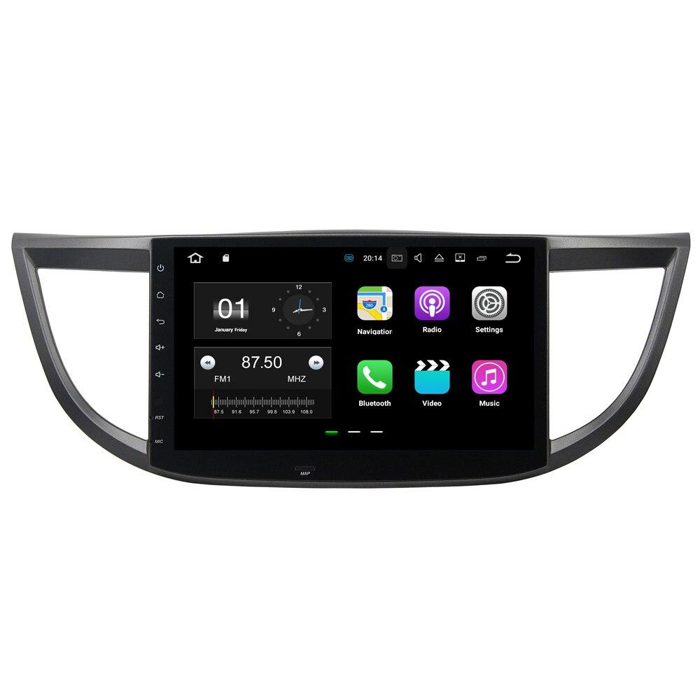 купить 10.1 Android 8.1.0 Car Head Unit GPS Player For Honda CRV 2012-2015 Radio Video Player GPS Navigation Car Stereo 1 Din In Dash