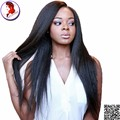 U Part Wigs Virgin Hair Mogonlain Cheap Human Hair Wigs Kinky Straight For Black Women 8A Upart Unprocessed Hair