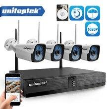 4CH 1080 P Беспроводной комплект системы видеонаблюдения H.265 4CH NVR 2MP WI-FI IP Камера открытый Водонепроницаемый видеонаблюдения комплект P2P XMEYE