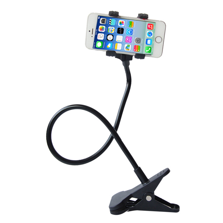 Phone holder Universal Long Arm Lazy Mobile Phone Gooseneck Stand Holder Flexible Bed Desk Table