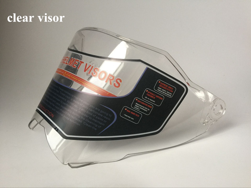 716 Helmet visor for  Full face Motorcycle Shield Parts original glasses motorbike helmet Lens