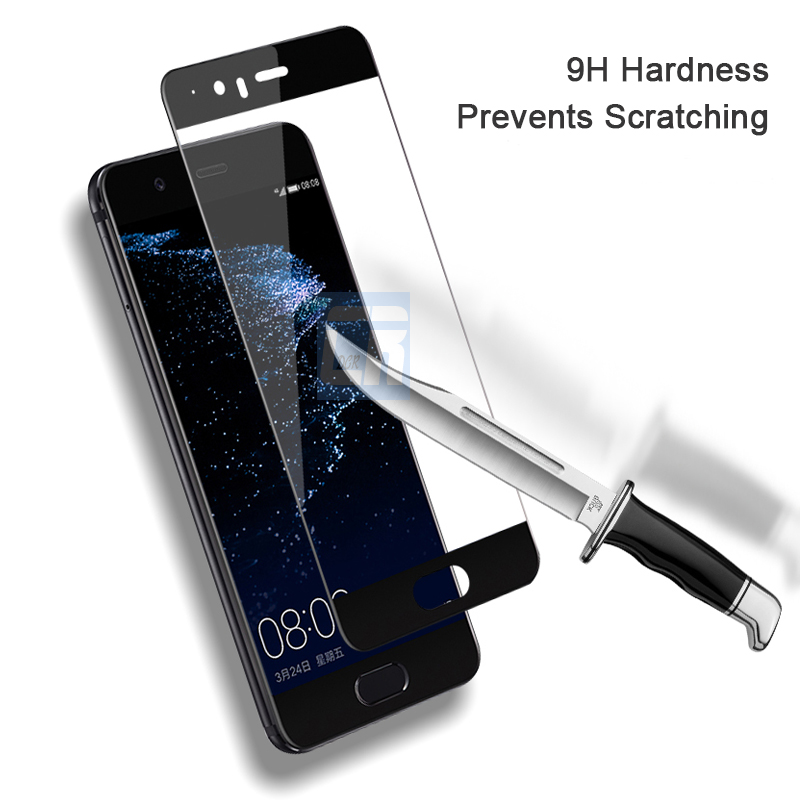 Full Cover Screen Protector Tempered Glass film for huawei nova 2 p8 p9 p10 plus lite Protective film for huawei y5 y6 y7 2017