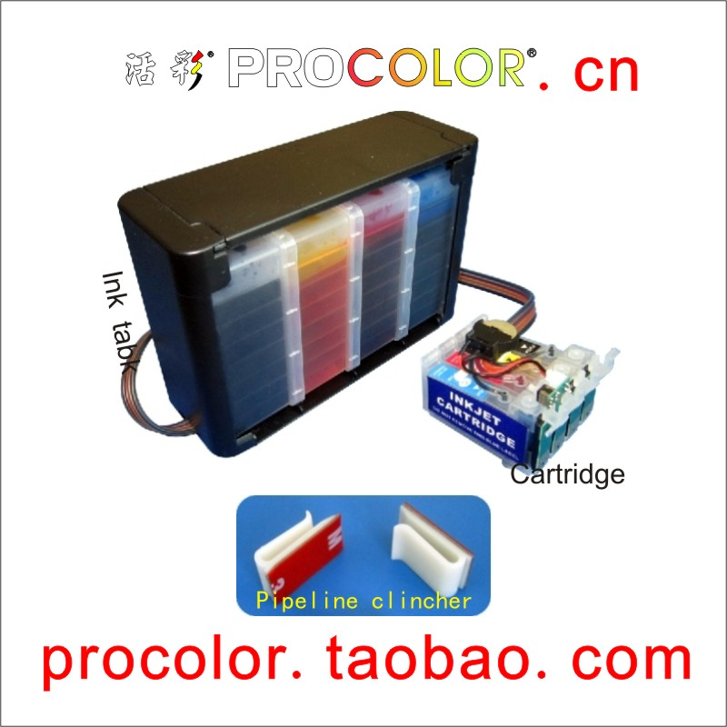 ФОТО CISS With Don't waste paper Chips for epson (T1951-T1954;T1961-T1964;T1971)XP-101/XP101/XP-201/XP201/XP-401/XP401 XP 401 201 101