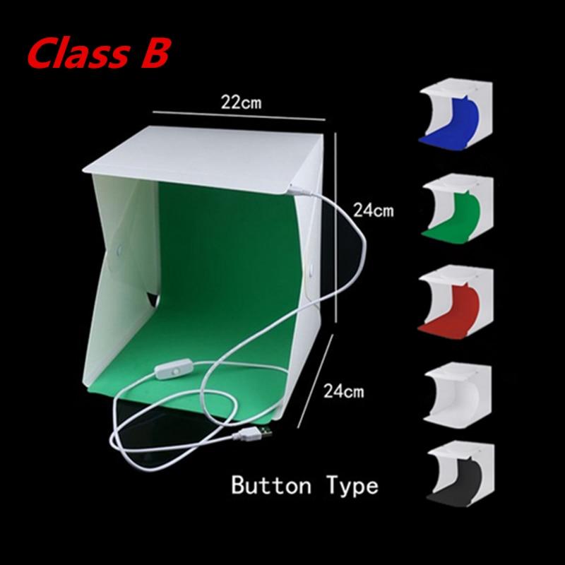 Caja de luz plegable de la foto de la caja de la foto del estudio de - Cámara y foto