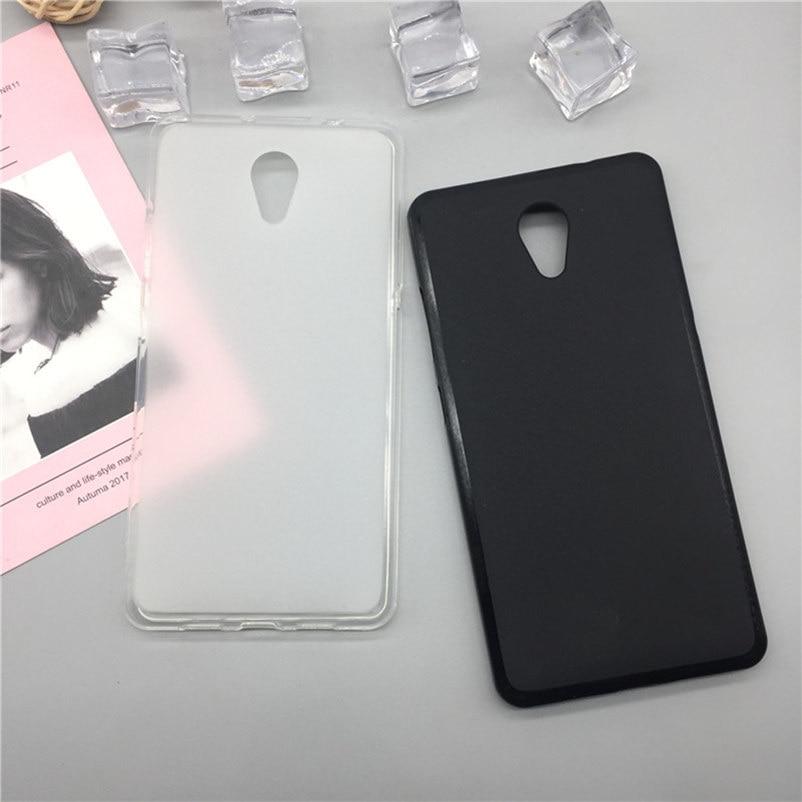 Original tpu caso do telefone capas para lenovo vibe s1 matte macio silicone capa traseira casos funda para