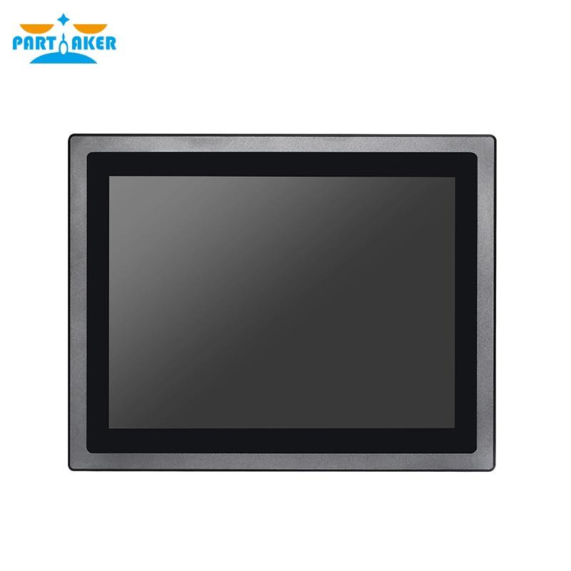 Waterproof IP65 12 Inch Industrial Touch Screen All In One Panel Pc Intel Core I5 4200U Partaker Z17