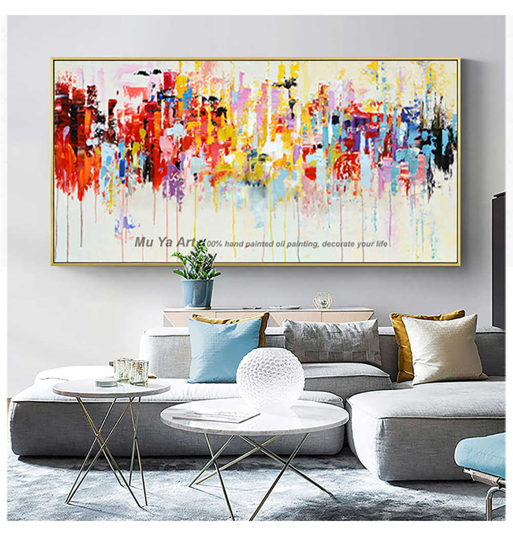 Célèbre tableau peinture acrylique peinture