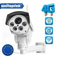 1080P IP Camera Wi FI 3G 4G SIM Card Camera Wifi Bullet PTZ Camera Outdoor Wireless IR 50M 5X 10X Zoom Auto Focus Lens CCTV Cam