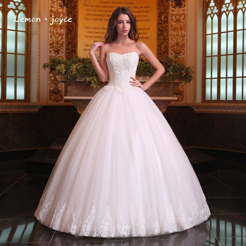 Romantic Wedding Dresses 2019: Romantic Wedding Dresses Ball Gowns 2019 Modern Strapless