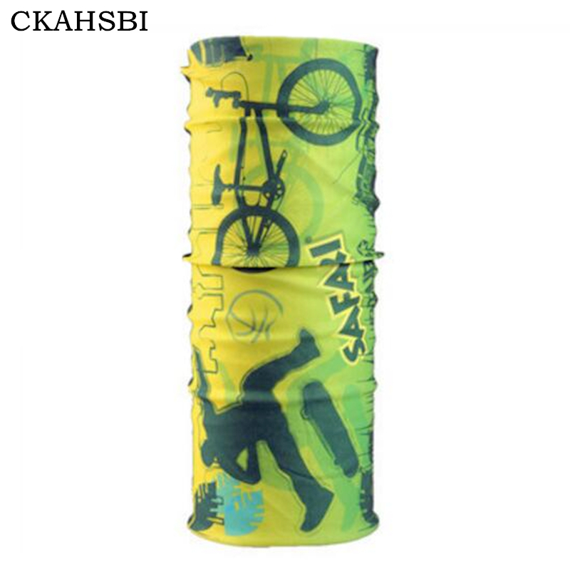 DICHSKI Cycling Bike Bicycle Equipment Sports Bike Headwear Summer Outdoor Polyester Thermal Magic Headband Neck Sunscreen Mask