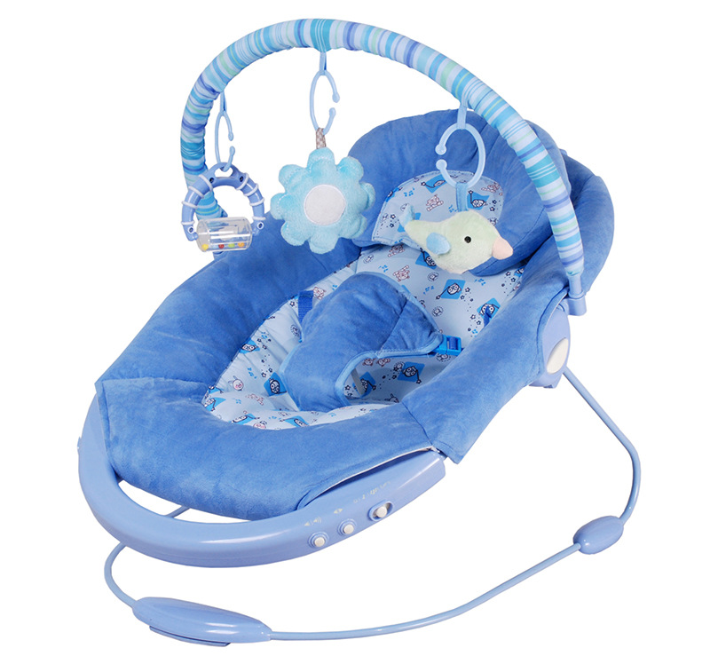 Free shipping baylor baby electric rocking chair swing for Baby chaise lounge